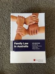 Family Law in Australia, 8th Edition